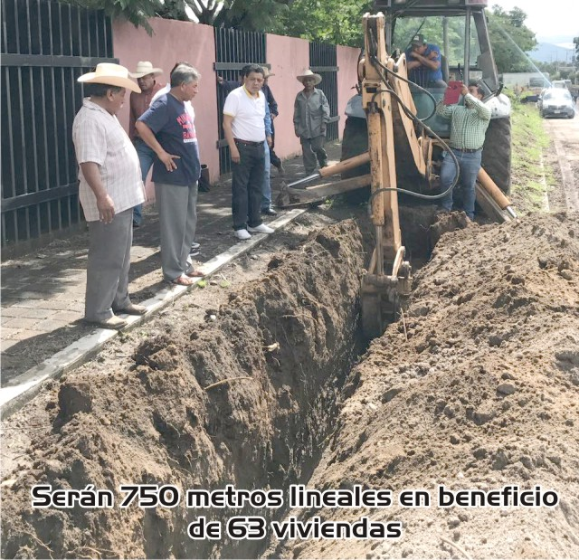 Avanza Red de Agua Potable en San Martín