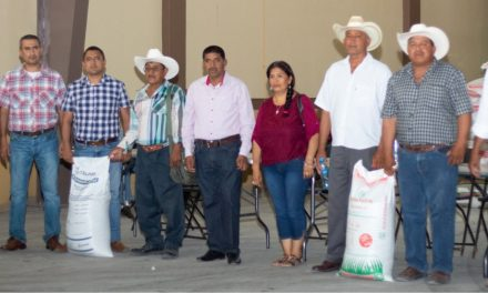 Reciben Fertilizantes 576 Productores.